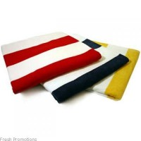 Striped Promotional Beach Towels