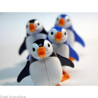 Wind Up Toy Penguin