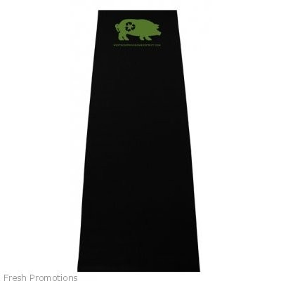 Black Promotional Yoga Mats