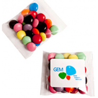 25gm Branded Choc Beans Bags