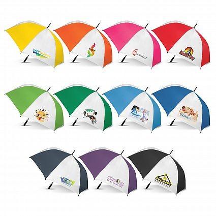 Hydra Sports Umbrella Colour Range With White Panels
