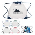 Small Clear Drawstring Backpack