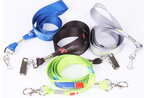 20mm Wide Sublimated Lanyard