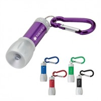 LED Flashlight with Carabiner