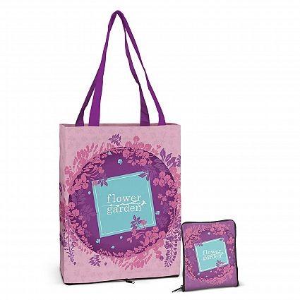 Wallet Cotton Shopping Bag Open