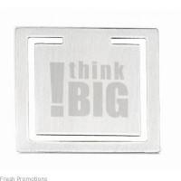 Square Bookmark Clips