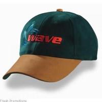 Suede Peak Caps