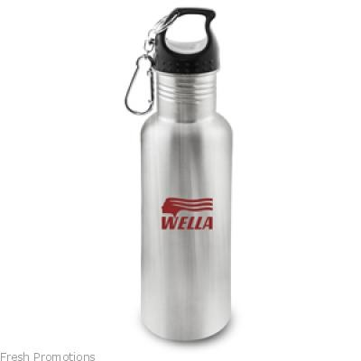 Brushed Stainless Steel Bottle