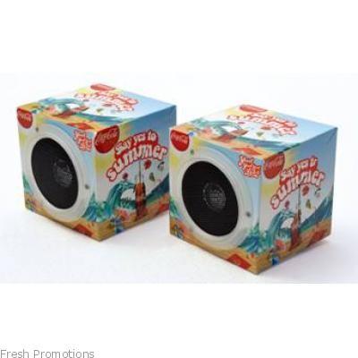 Cube Folding Speakers