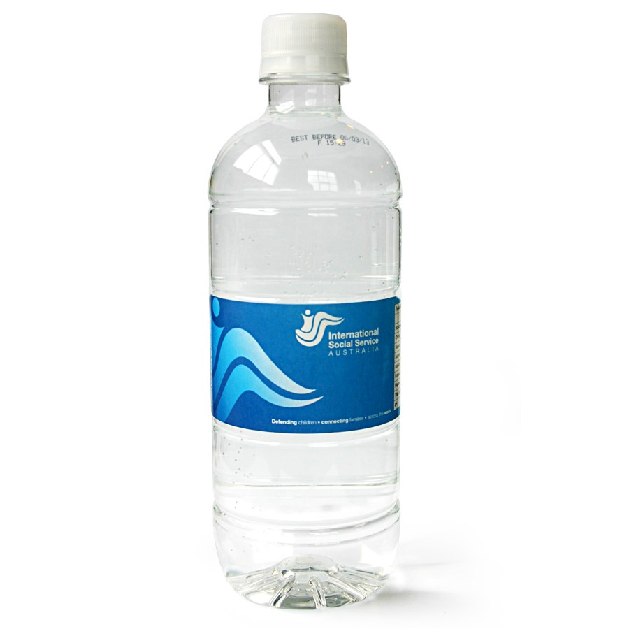 International Social Service Custom Bottled Water