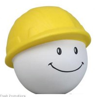 Hard Hat Mad Cap Stress Toys