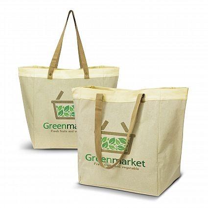 Market Tote Bag Custom Printed