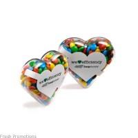 Heart Shaped M&M Gift Box
