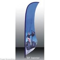 Sharkfin Banner Signs