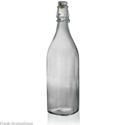Printed Glass Swingtop Bottles