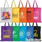 Coloured Cotton Bags