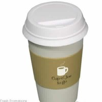 To Go Coffee Cup Stress Balls