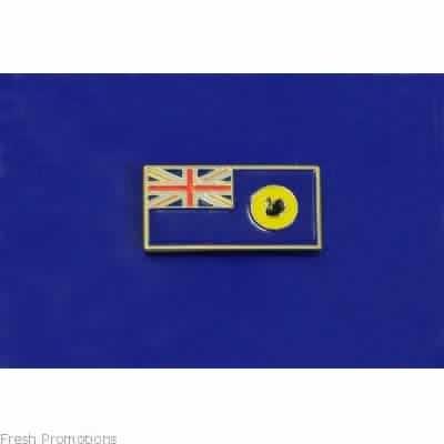 Australia State Flag 25Mm Pin Button Badge Lapel Pin Western Australia