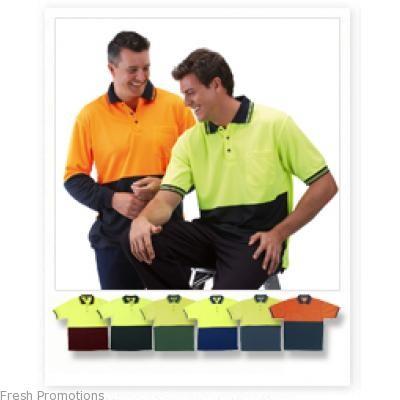Jb Hi Vis Polo Short Sleeve