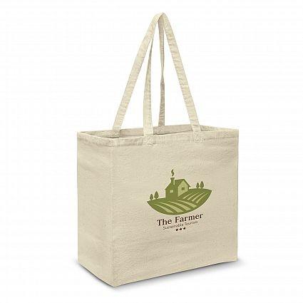 Large Cotton Tote Bag Custom Branded