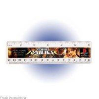 Half Size Ruler With Colour Print