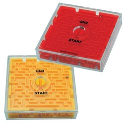 Two Sided Maze Puzzle