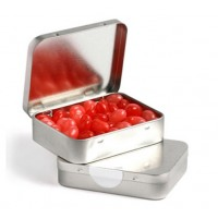 Rectangle Tins With Jelly Beans