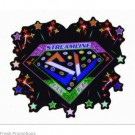 Metal Glitter Badges