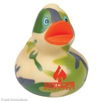 Custom Camo Rubber Duckies