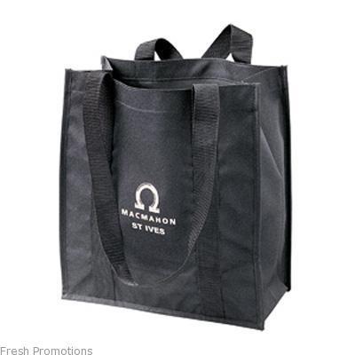 Black Eco Shopping Bags