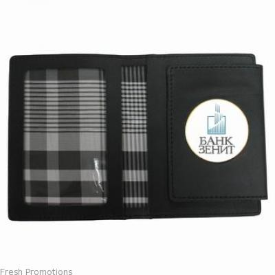 Synthetic Badge Holder Wallet
