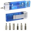 Clip On Pocket Screwdriver Flashlight