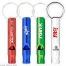 Aluminium Metal Whistle Keyrings