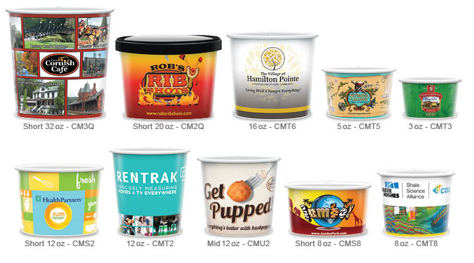 Microwavable Paper Containers