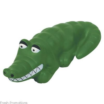 Smiley Alligator Stress Toys