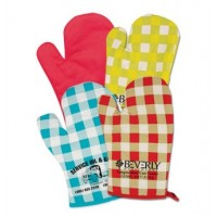 Printed Oven Mitts