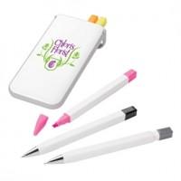 Pen, Pencil and Highlighter Set