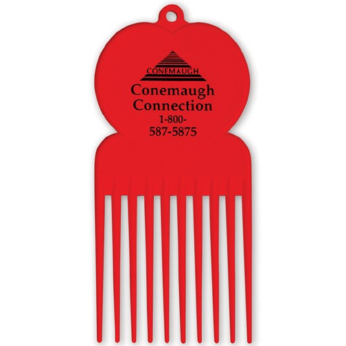 Promotional Pick Combs with Custom Print
