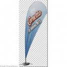 Small Printed Beach Banners