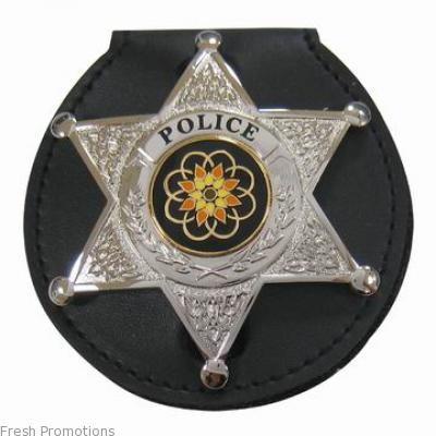 Round Badge ID Holder