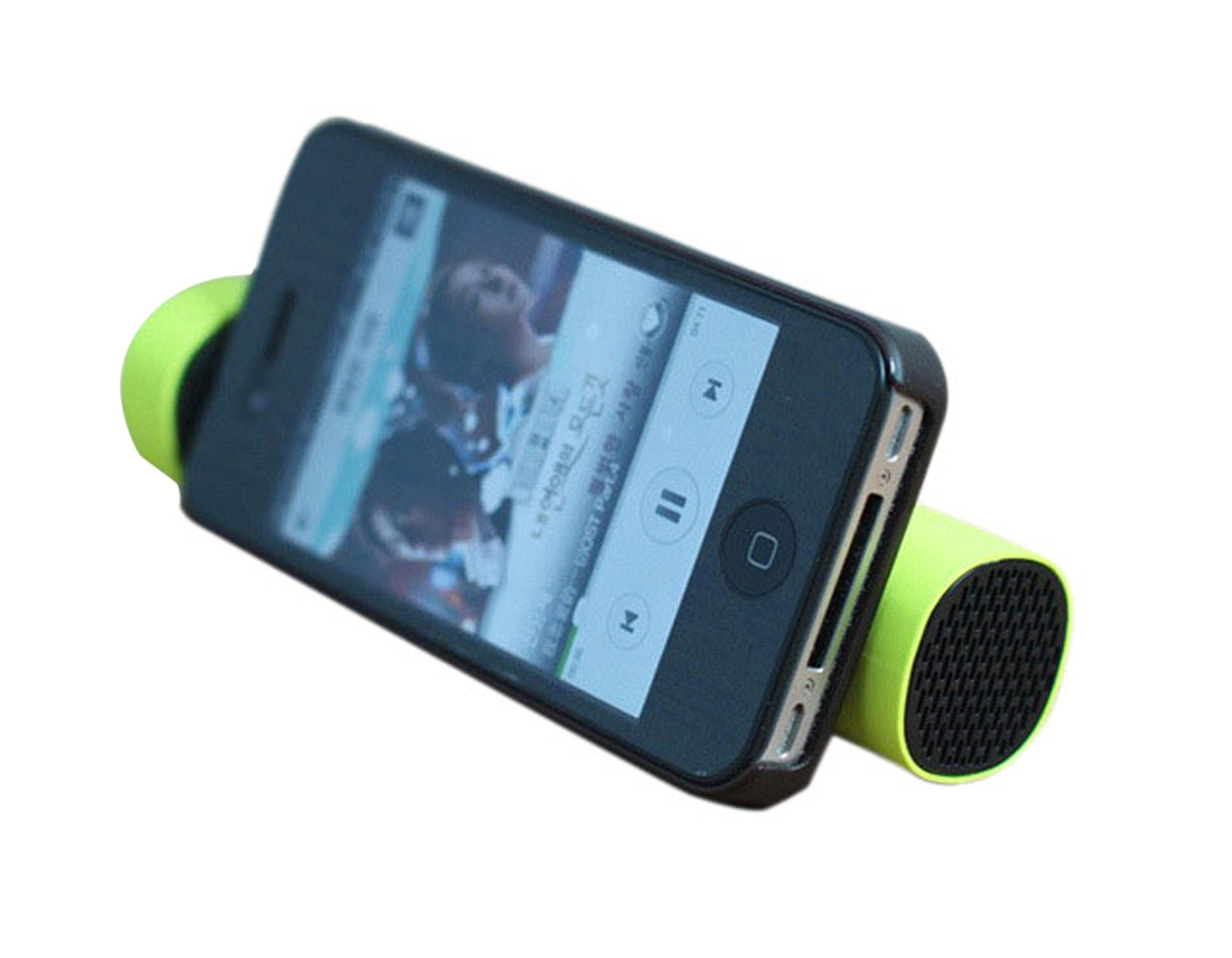 Power bank with speaker