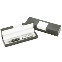 Single Pen Gift Box with Metal Badge