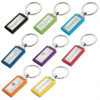 Coloured Keyrings