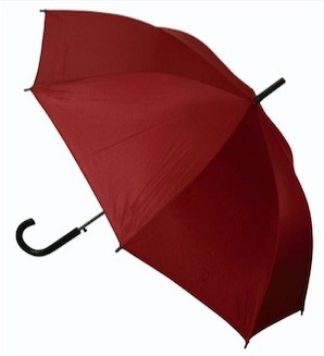 Economy Rain Umbrellas Maroon