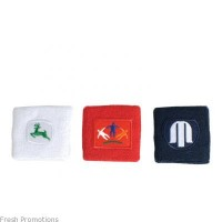 Embroidered Tennis Wristbands