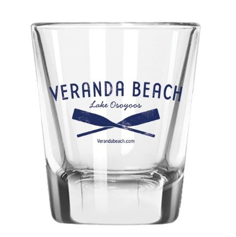 Promotional Shot Glasse With 1 colour Print