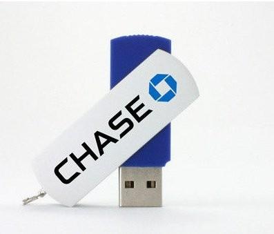 Swivel Case Promotional Flash Drives