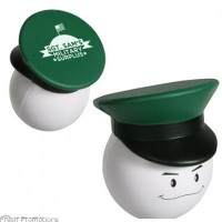 Army Officer Mad Cap Stress Toys