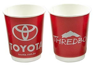 8oz Double Walled Paper Cups