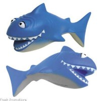 Cartoon Shark Stress Balls